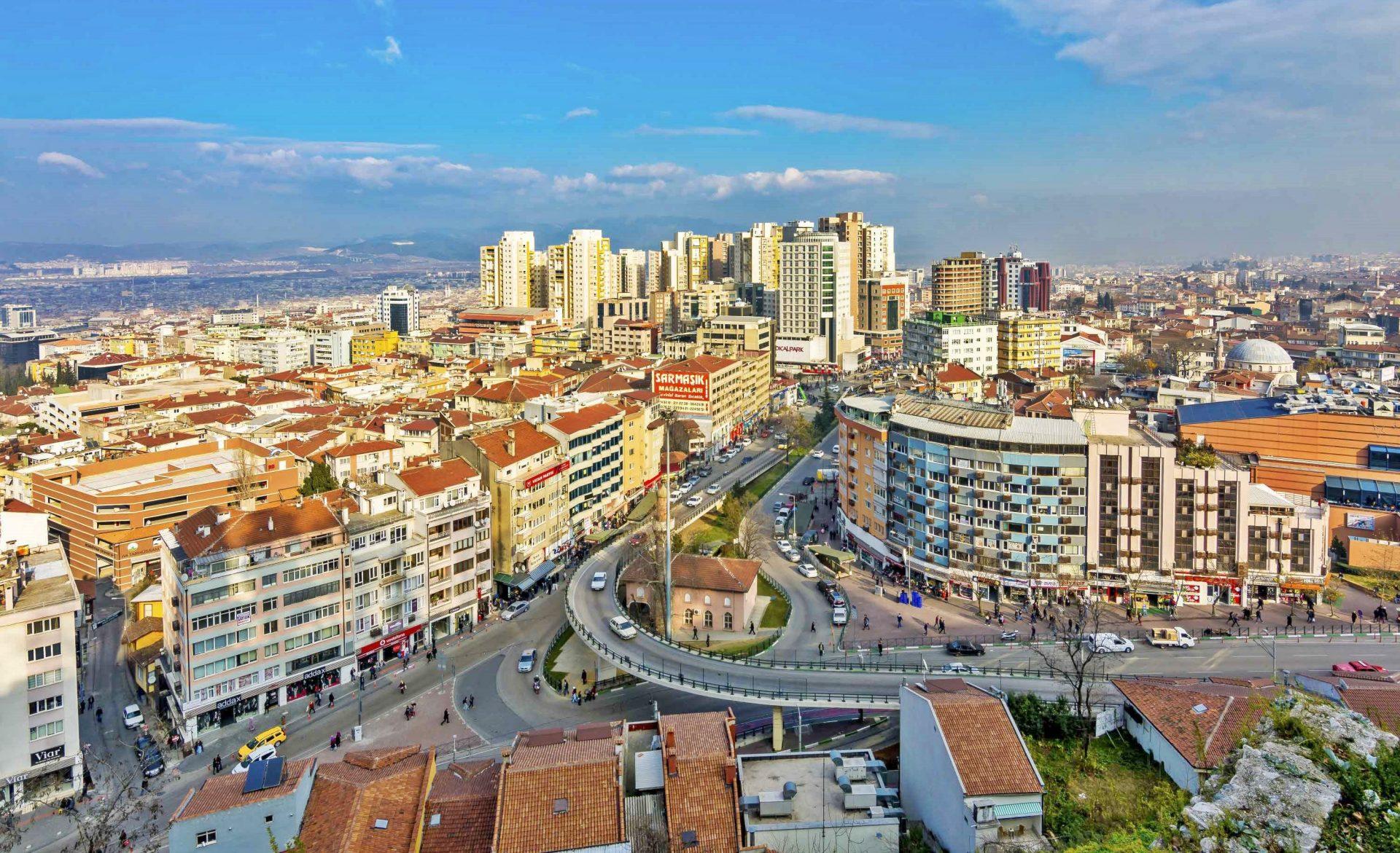 منطقه کاراباغلار Karabağlar ازمیر و محله های آن